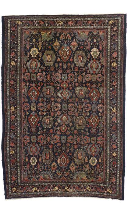 8 x 12 Antique Bibikabad Rug 77160