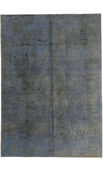 7 x 10 Vintage Overdyed Rug 60623