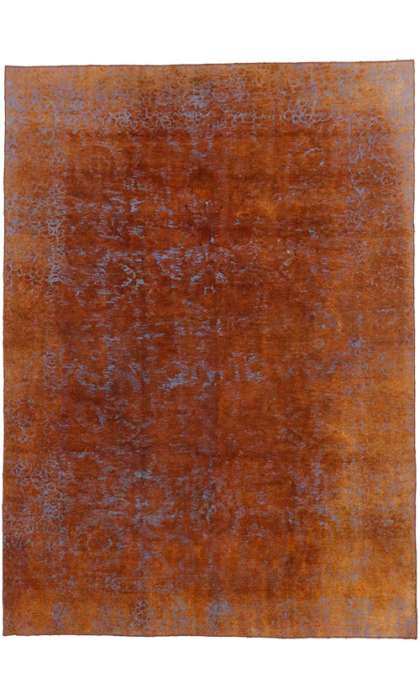 8 x 11 Vintage Overdyed Rug 60624