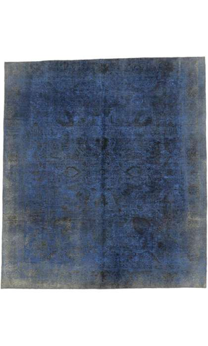 9 x 11 Vintage Overdyed Rug 60628