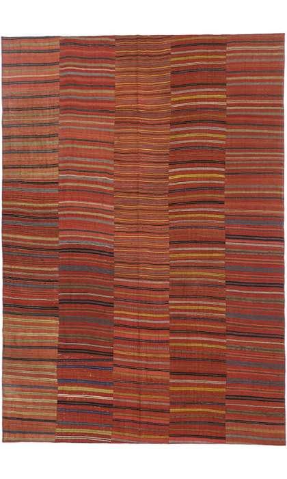 7 x 10 Vintage Kilim Rug 60653
