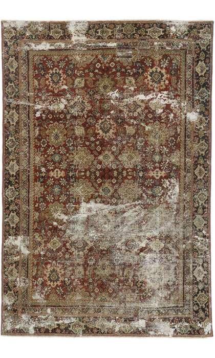 6 x 10 Antique Mahal  Rug 60682