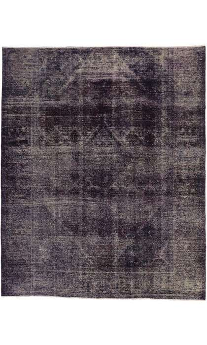 7 x 9 Vintage Overdyed Rug 60685