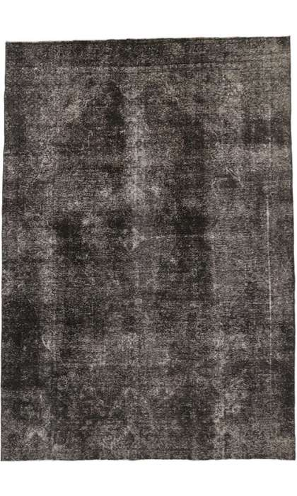 9 x 13 Vintage Overdyed Rug 60698