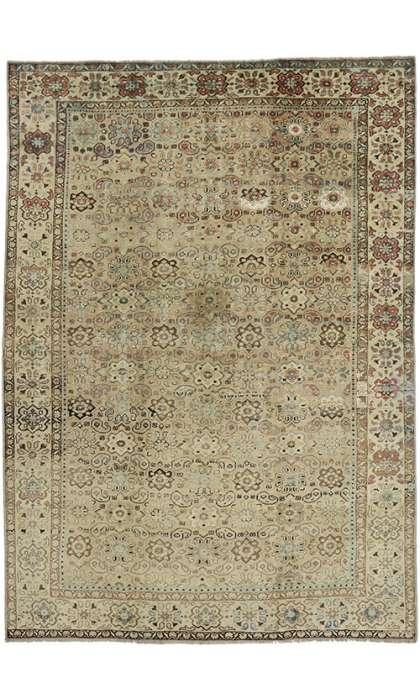 9 x 13 Persian Tabriz Rug 60699