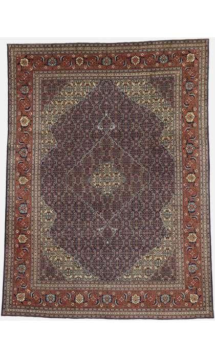 10 x 13 Persian Tabriz Rug 60713