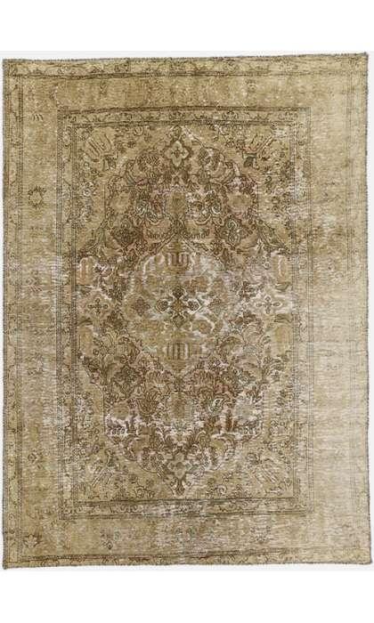 8 x 9 Persian Tabriz Rug 60717