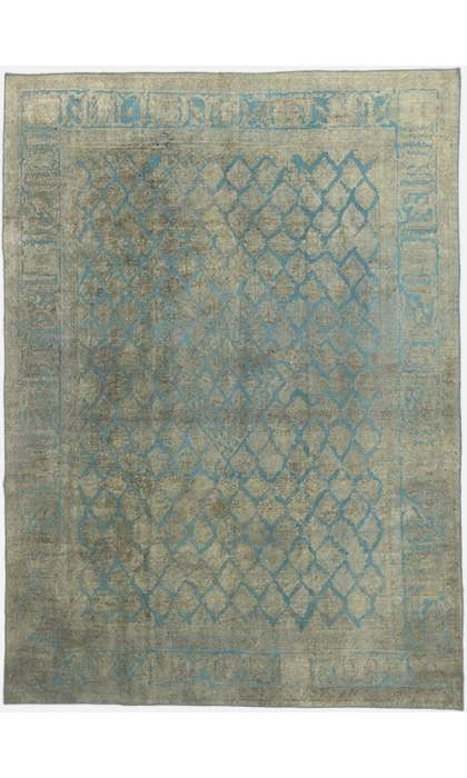 8 x 11 Vintage Overdyed Rug 60721