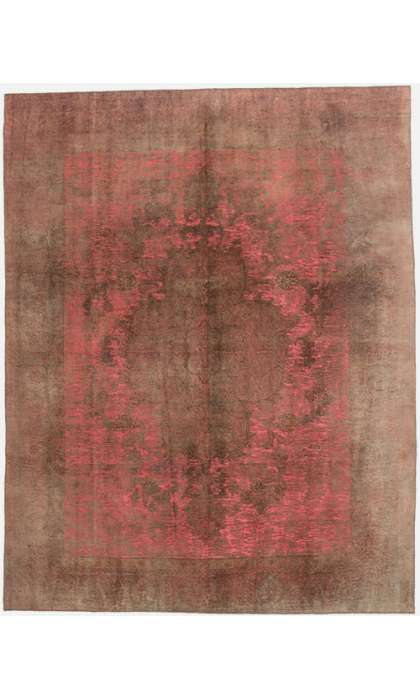 10 x 12 Vintage Overdyed Rug 60723