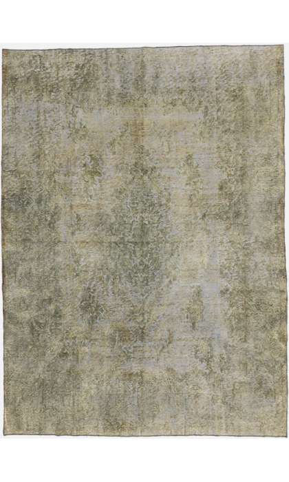 9 x 13 Vintage Overdyed Rug 60729