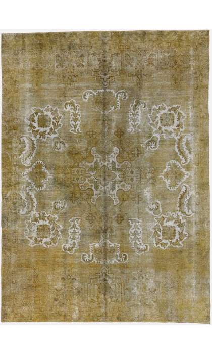8 x 11 Vintage Overdyed Rug 60733