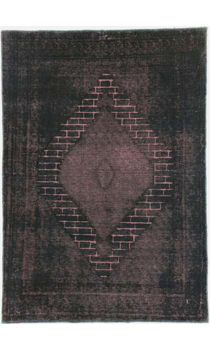 4 x 6 Vintage Overdyed Rug 60736
