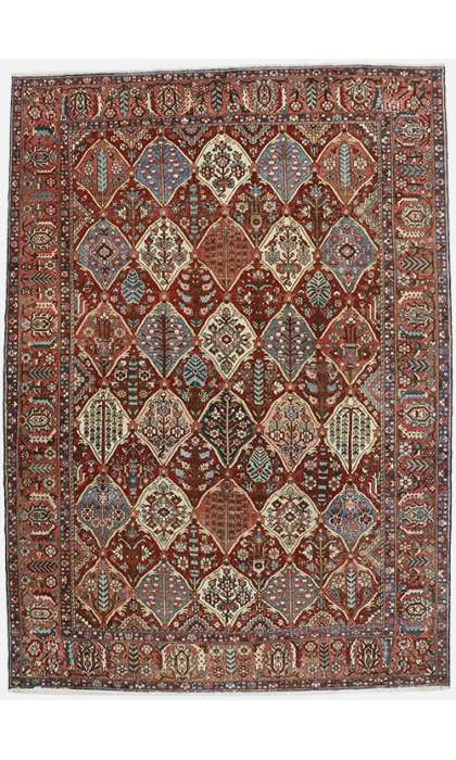 11 x 16 Antique Bakhtiari Rug 60738