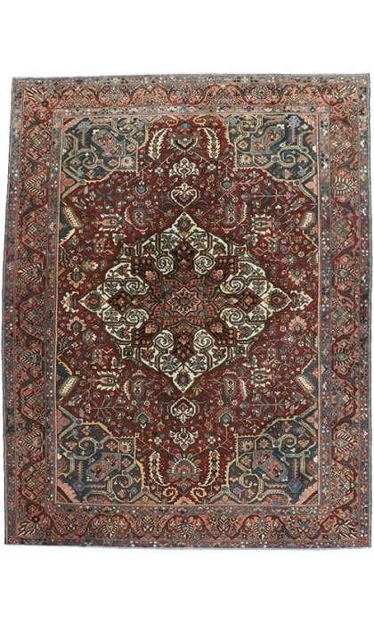 12 x 16 Vintage Bakhtiari Rug 60743