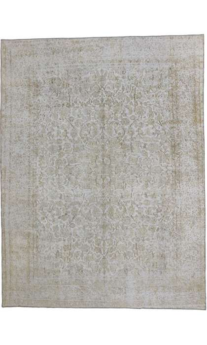 9 x 13 Vintage Overdyed Rug 60770