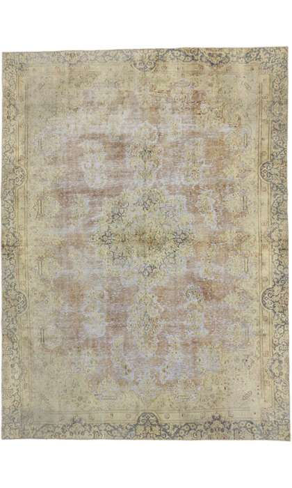 8 x 11 Vintage Overdyed Rug 60771