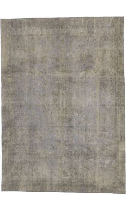 8 x 11 Vintage Overdyed Rug 60780