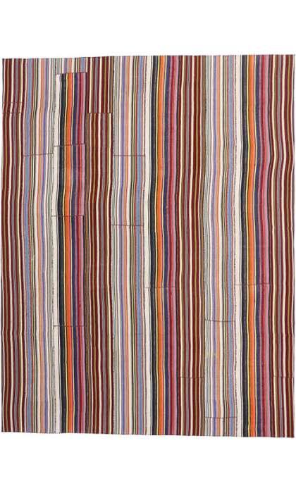 10 x 13 Vintage Kilim Rug 60797