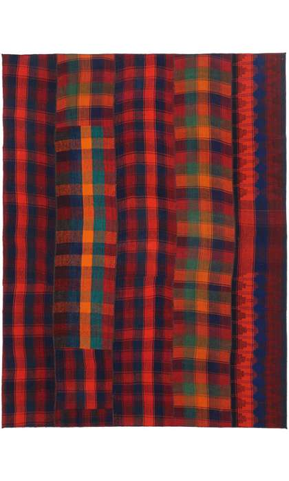 7 x 10 Vintage Kilim Rug 60811