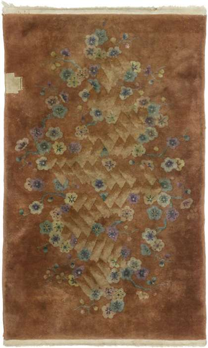 3 x 5 Antique Chinese Rug 77176