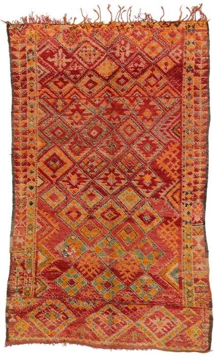6 x 10 Vintage Moroccan Rug 20677