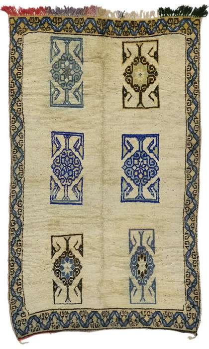 5 x 8 Vintage Moroccan Rug 20756