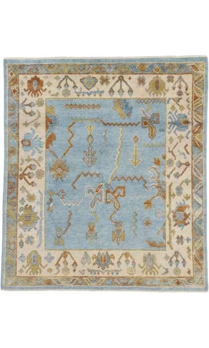 6 x 7 Oushak Rug 30402
