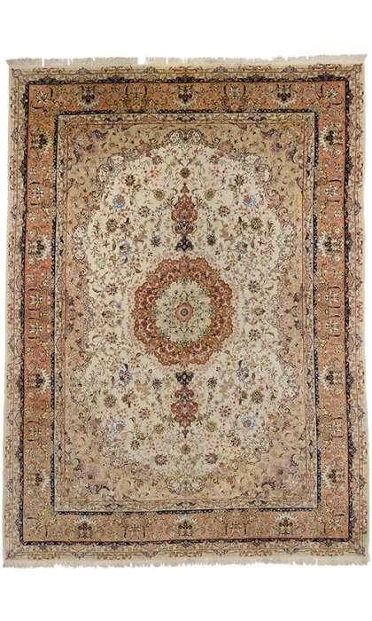10 x 13 Vintage Tabriz 77182