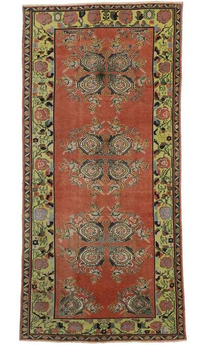 5 x 10 Vintage Oushak Rug 52392