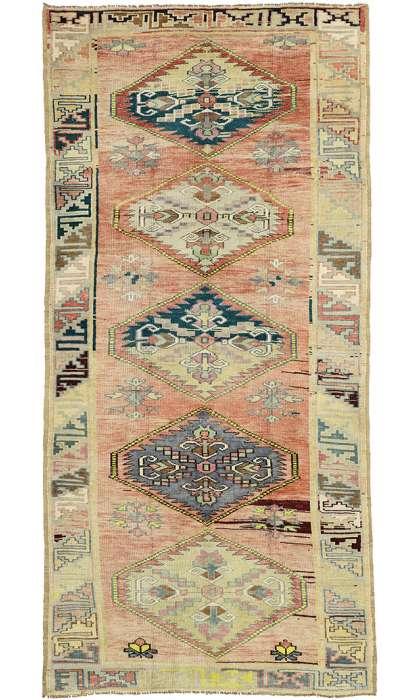 5 x 11 Vintage Oushak Rug 52414