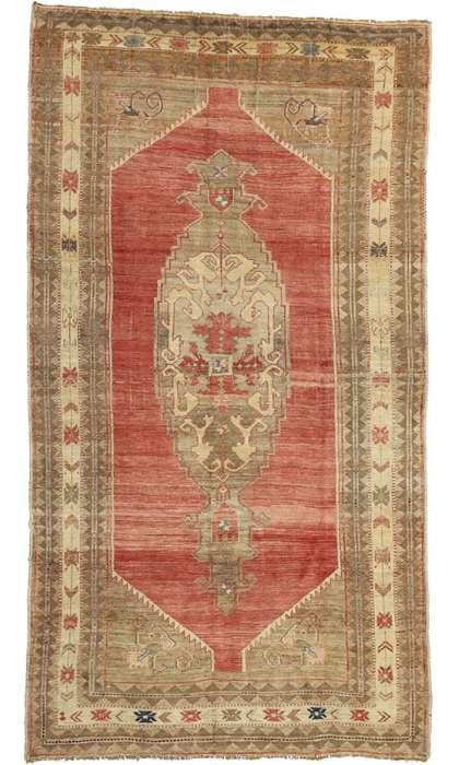 6 x 12 Vintage Oushak Rug 52419