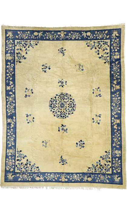 9 x 11 Antique Peking Rug 77191