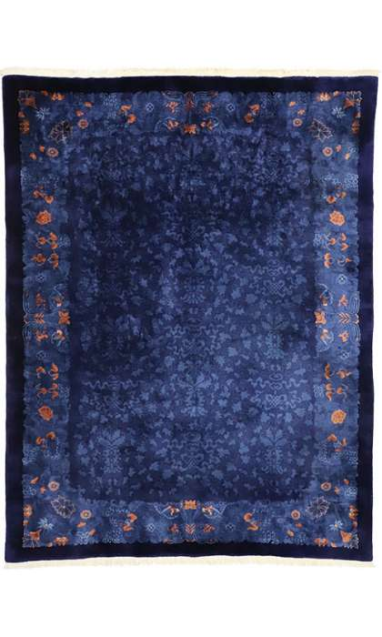 9 x 12 Antique Art Deco Rug 77196