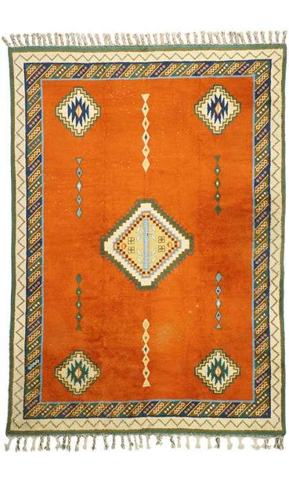 10 x 14 Vintage Moroccan Rug 77202