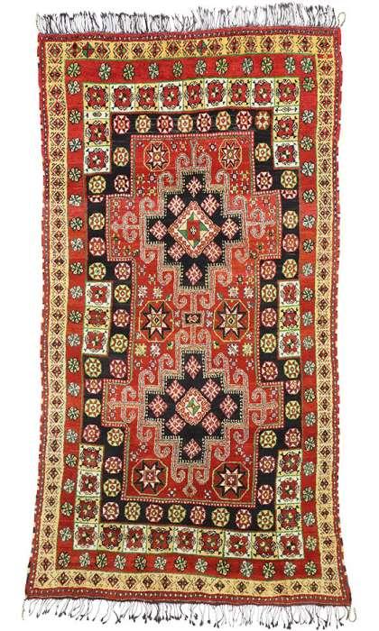 10 x 14 Vintage Moroccan Rug 77203