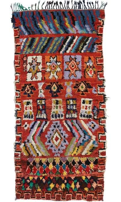 3 x 6 Vintage Moroccan Rug 20039