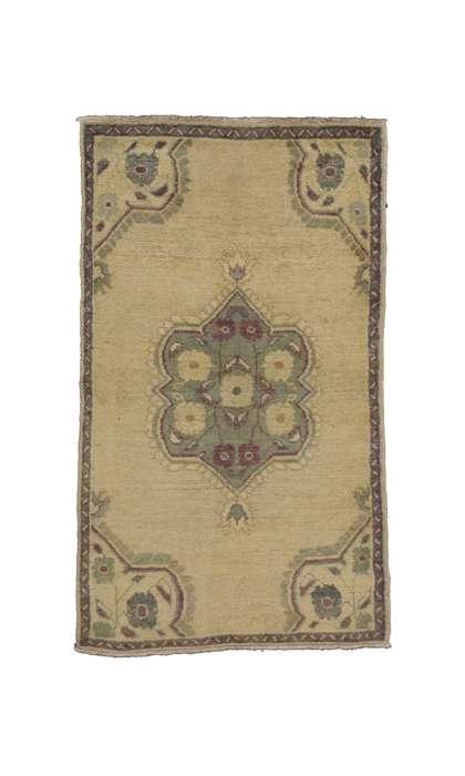 3 x 5 Vintage Oushak Rug 50137