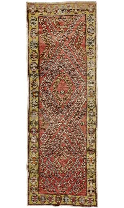 3 x 10 Vintage Oushak Rug 50144