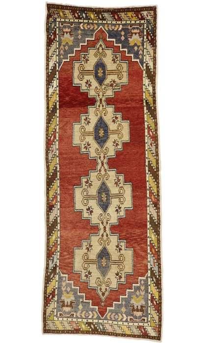3 x 10 Vintage Oushak Rug 50179