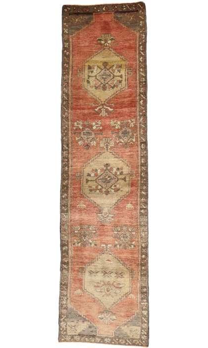3 x 11 Vintage Oushak Rug 50190