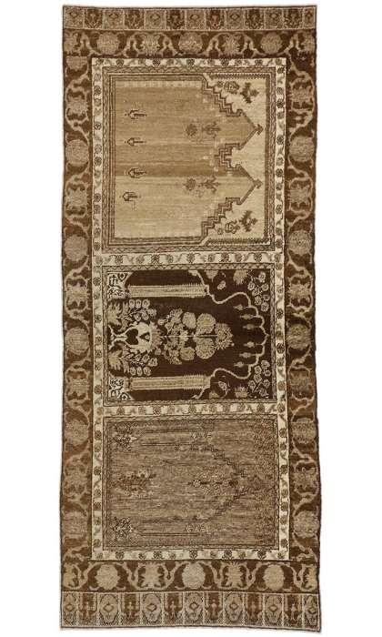 3 x 8 Vintage Oushak Rug 50193