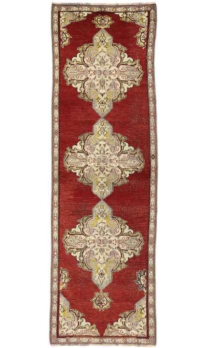 3 x 11 Antique Oushak Rug 50227