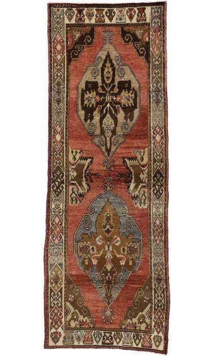 4 x 10 Antique Oushak Rug 50228