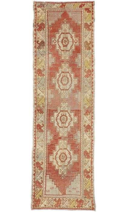 3 x 10 Antique Oushak Rug 50231