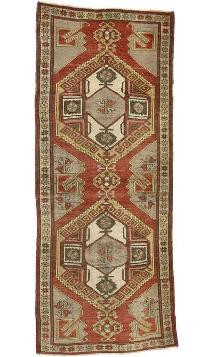4 x 10 Antique Oushak Rug 50233