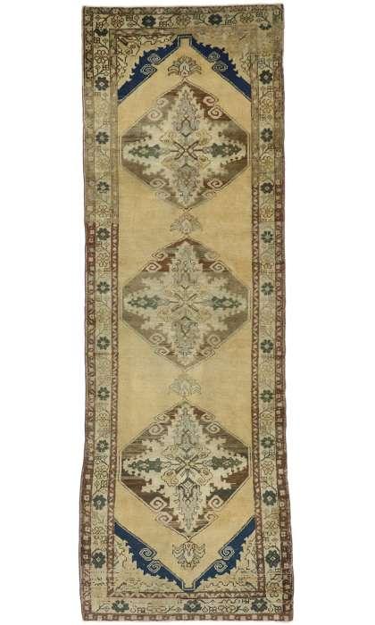 4 x 11 Vintage Oushak Rug 50279