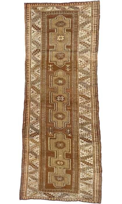 4 x 10 Antique Oushak Rug 50282