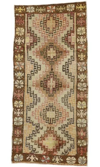 4 x 8 Antique Oushak Rug 50288