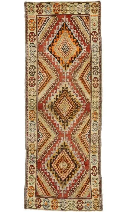 4 x 10 Antique Oushak Rug 50358