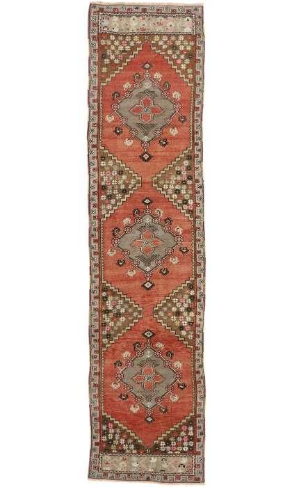 2 x 10 Antique Oushak Rug 50724